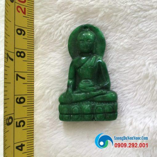 Mặt phật Thích ca đá ngọc Myanmar AV1141
