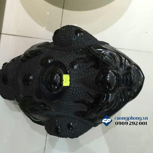 Thiềm thừ Phong Thủy đá Hắc Ngà B257