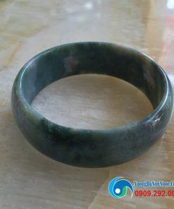 Vòng tay đá cẩm thạch xanh rêu