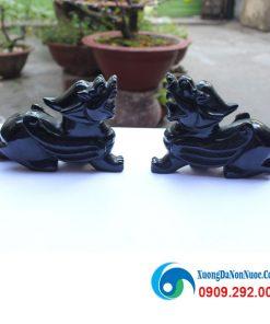 Tỳ hưu đá Obsidian R15