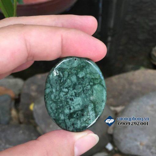 Mặt Đức mẹ ban ơn đá Ngọc ấn độ D902