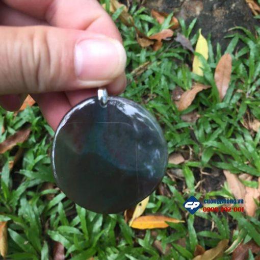 Mặt dây chuyền hình Rồng đá caxedon D513