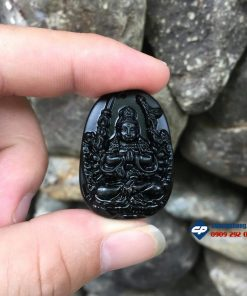 Thiên Thủ Thiên Nhãn đá obsidian