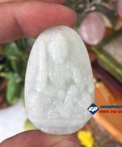 Mặt phật bản mệnh Văn Thù Sự Lợi đá Cẩm thạch CP050