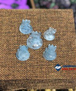 Mặt Hồ Ly đá Aquamarine