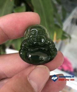 Mặt phật Di Lặc Ngọc Bích Nephrite-R218