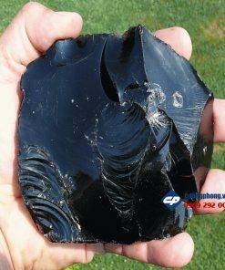 M340-mat-day-duc-chua-giesu-mu-dinh-da-obsidian-size-nho