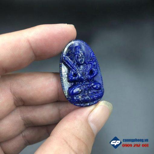 Mặt Phật bản mệnh Hư Không Tạng đá Lapis Lazuli CP522