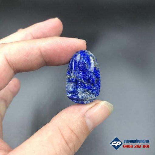 Mặt Phật bản mệnh Bất Động Minh Vương đá Lapis Lazuli CP524