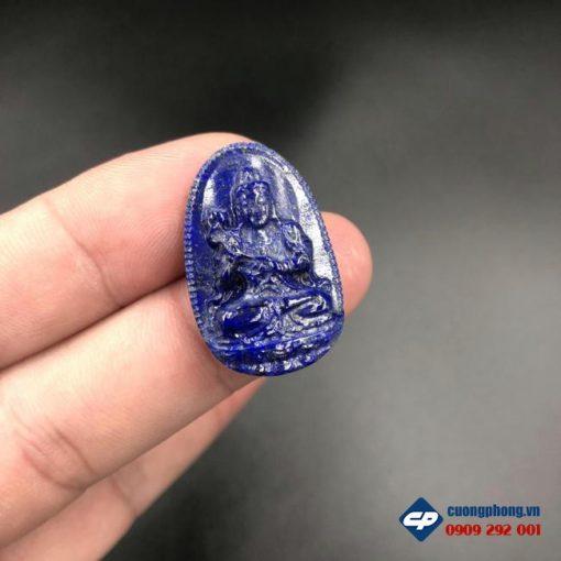 Mặt Phật Bản Mệnh Đại Thế Chí đá Lapis Lazuli CP525