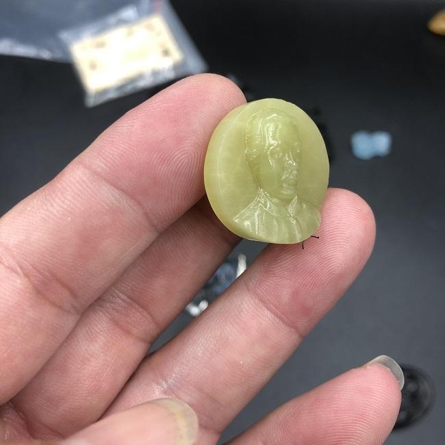 Mặt dây chuyền cha Trương Bửu Diệp đá onyx CP621
