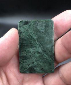 Mặt dây chuyền Quan công cưỡi rồng đá Serpentine CP678